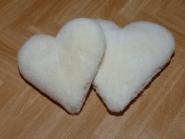 Kissen in Herzform