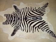cow skin in zebra-look