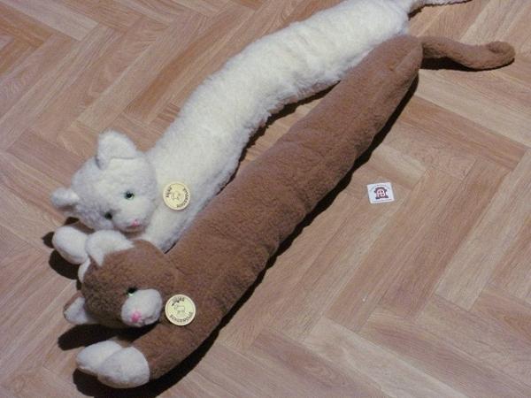 Zugluftschutz - Katze