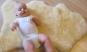 Babylammfell 90 cm med. Oeko-Tex Zertifikat